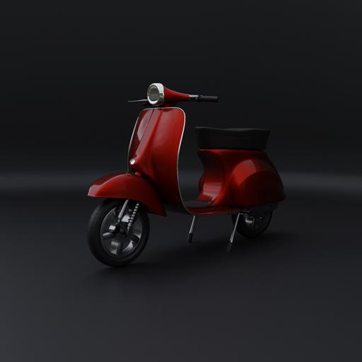 Thumbnail: Vespa scooter bike