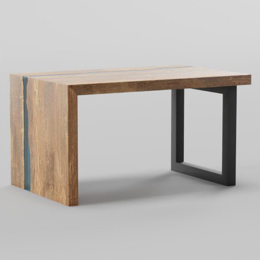 Thumbnail: Resin Coffee Table 80x50x44