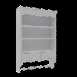 Thumbnail: Sweet Towel Wall Cabinet - Chalk White