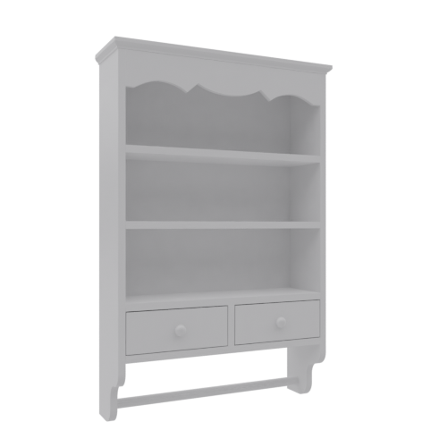 Thumbnail: Sweet Towel Wall Cabinet - Chalk White