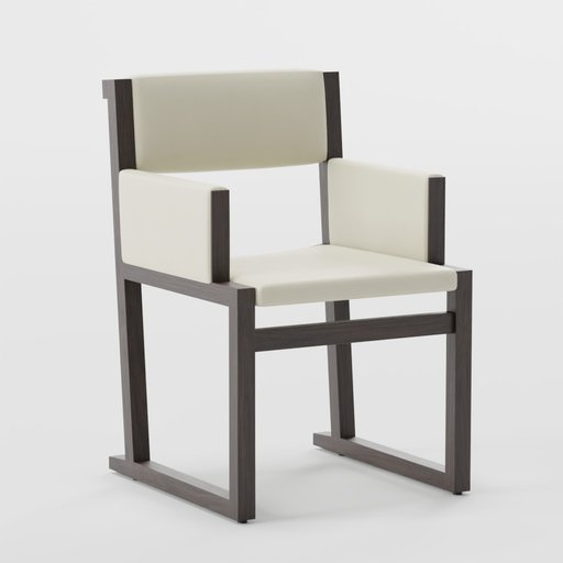 Thumbnail: Camerich Emily armchair - white leather