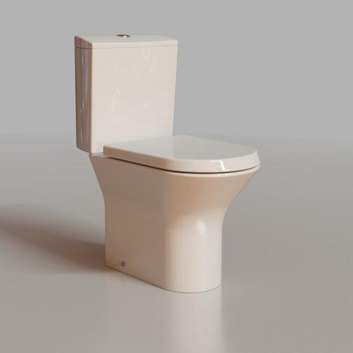 Modern toilet w.c.